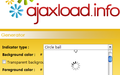 ajax loading图片定制