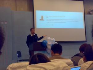 matt.mullenweg在wordcamp 2009活动中演讲