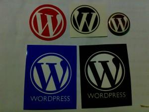 wordcamp 2009之logo纪念品
