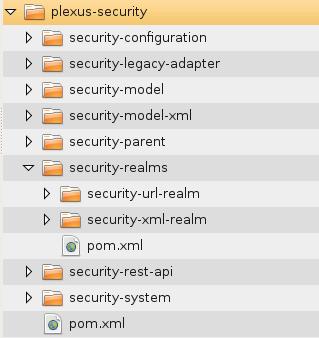 plexus-security项目结构